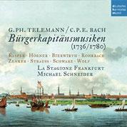 Cover Bürgerkapitänsmusiken
