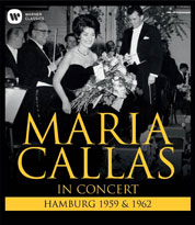 Callas in Hamburg - BlueRay-Cover