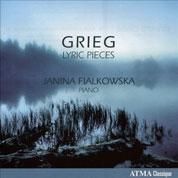 Edvard Grieg: Lyric Pieces Cover