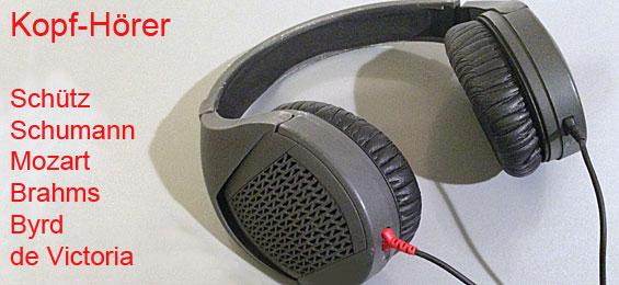 Kopf-Hörer: neue Aufnahmen – Reise durch die Zeiten