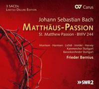 Bach - Mattäus-Passion - Cover