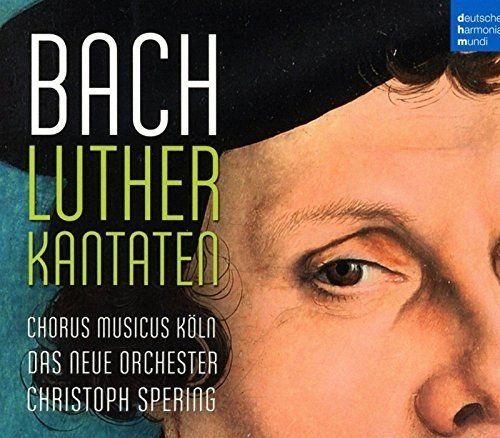 Christoph Spering: Bach – Lutherkantaten COVER