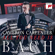 Cameron Carpenter CD-Cover SONY