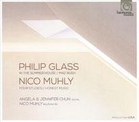 Nico Muhly und Philip Glass. Harmonia Mundi Cover