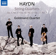 Haydn - Goldmund Quartett