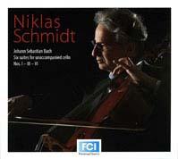 Niklas Schmidt spielt die Cello-Suiten von Bach Cover 2