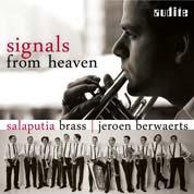 Jeroen Berwaerts & Salaputia Brass: Signals from Heaven COVER