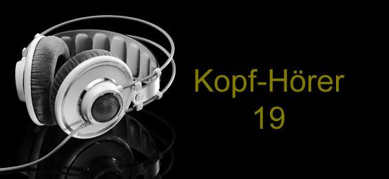 Kopf-Hörer 19 - für den Advent geeignet