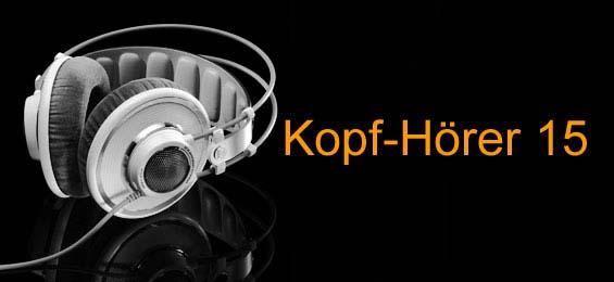 Kopf-Hörer 15