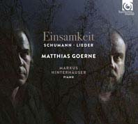 Cover Schumann Einsamkeit