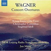 Cover MDR Symphony: Wagner – frühe Ouvertüren
