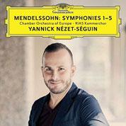 Mendelssohn Yannik Nezet-Seguin COVER