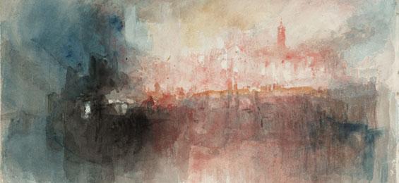 Kultur - Kunst  William Turner, der Maler der Elemente - Bucerius Kunst Forum
