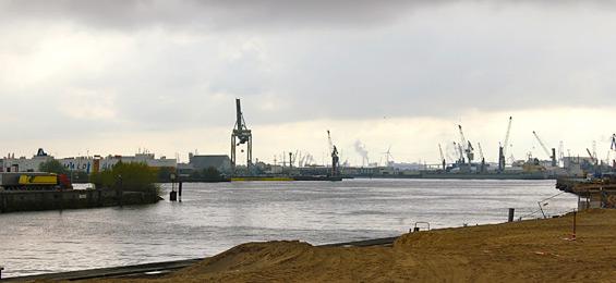 HafenCity, Baakenhafen und ein Gespräch mit Günter Wilkens