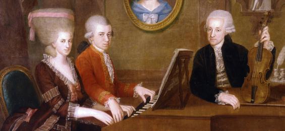 Musikalisches Sommerfestival (Teil 1) - Familie Mozart