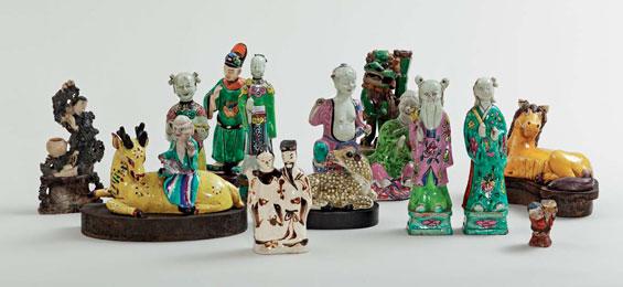 Emil Nolde - Puppen, Masken und Idole / Chinesische Porzellanfiguren