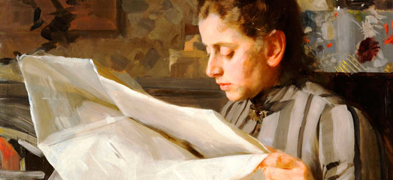 Vergessen und wiederentdeckt, der schwedische Impressionist Anders Zorn