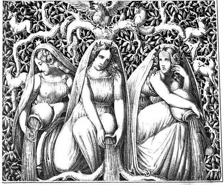 """Aus dem Prolog der """"Götterdämmerung"""""""