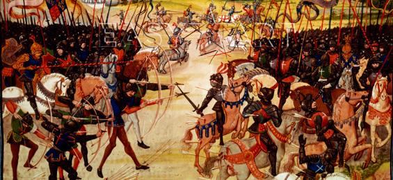 KlassikKompass – Musik im Mittelalter: Blut der Schlachten und Mut der Helden. Der Hundertjährige Krieg