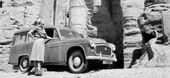 Mit dem Auto 1953 durch Afghanistan - Fotografien von Yvonne von Schweinitz - Dortmund