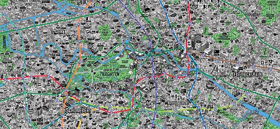 Mapping Berlin – Auf den Spuren des handgezeichneten Stadtplans