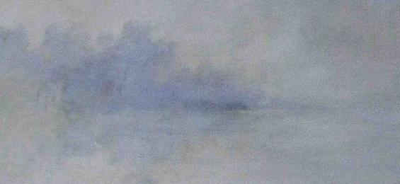"""Cris Pink: """"Offshore"""" – nebulöse Lichtschleier in unzähligen Farbschichten"""