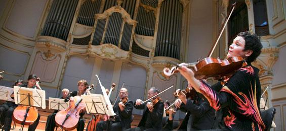 Himmelwärts und erdverbunden - Saisoneröffnung  des Ensemble Resonanz. Copyright Jann Wilken