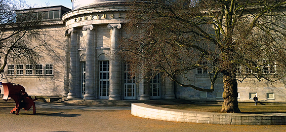 Hamburger Kunsthalle plant Skulpturenparcours für 2014