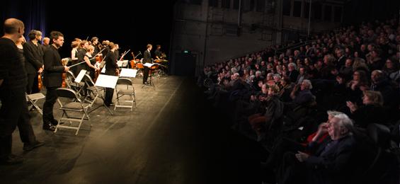 """""""Together Alone"""" - das Ensemble Resonanz auf Kampnagel"""
