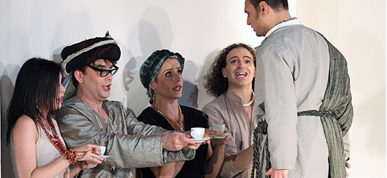 "Orientbegeisterung in Altona – ""Die Italienerin in Algier"""