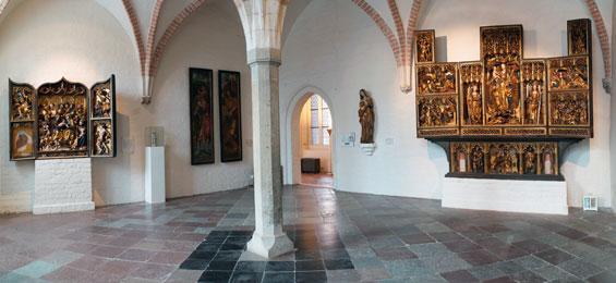 Der Antonius-Altar im St. Annen-Museum in Luebeck
