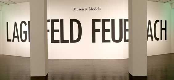 Feuerbachs Musen – Lagerfelds Models