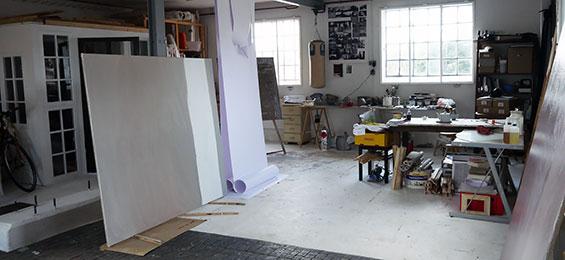 Janine Gerber – ein Atelierbesuch