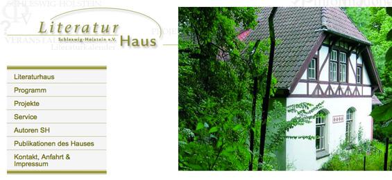 Das Literaturhaus Schleswig-Holstein – ein Blick zurück, ein Blick voraus