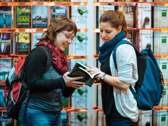 Leipziger Buchmesse Jessica und Andrea