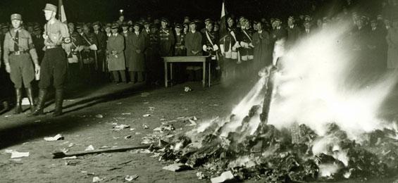Als in Hamburg die Bücher brannten