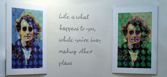 Imagine John Lennon – Musiker, Poet, Zeichner, Aktivist