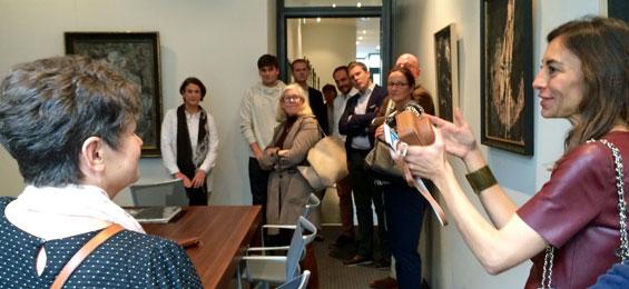 add art – ein Kunstrundgang durch Unternehmen in Hamburg