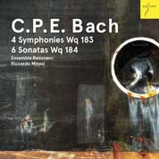 Ensemble Resonanz neue CD mit C.P.E. Bach