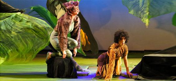 Dschungelbuch für Kinder – ganz eng am Original - Allee Theater Foto Joachim Fluegel
