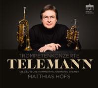 Cover Matthias Hoefs - Telemann