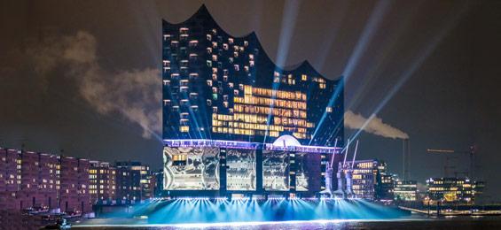 Elbphilharmonie: routinierter Start im TV, Gänsehaut exklusive. Die Eröffnung im Fernsehen