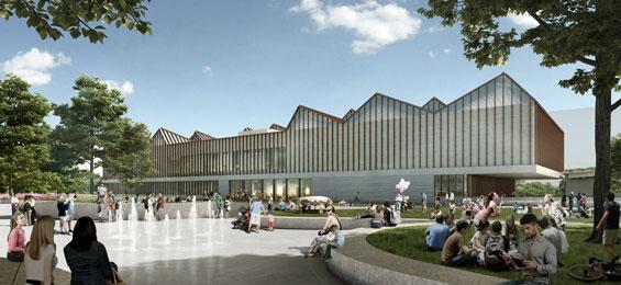 Neues Zentrum für zeitgenössische Kunst im Baltikum - Adjaye Associates (UK) und AB3D (LV)