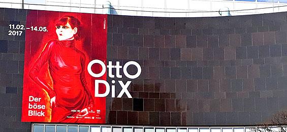 Otto Dix – Der böse Blick - Kunstsammlung Nordrhein-Westfalen Düsseldorf