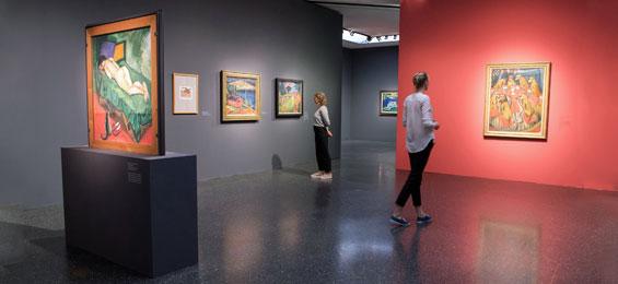 """""""Max Pechstein – Künstler der Moderne"""" im Bucerius Kunst Forum Hamburg"""