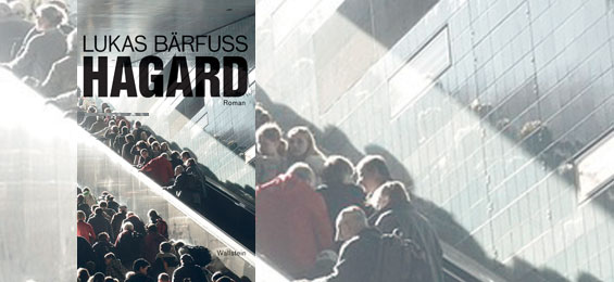 Lukas Bärfuss Hagard-Cover