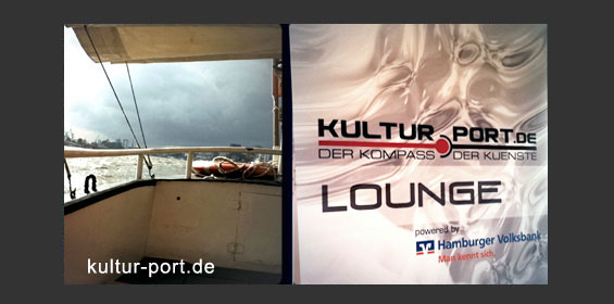 Kultur-Port.De Lounge powered by Hamburger Volksbank