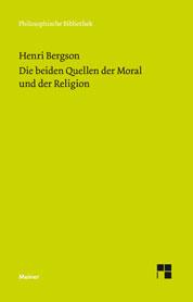 Benson, Henri COVER Meiner Verlag