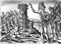 Indianische Kulturen Handel
