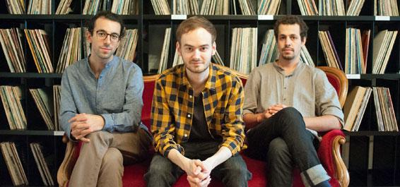 Silvan Joray Trio: cluster